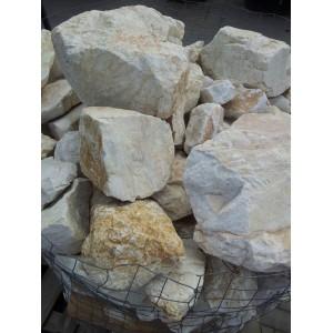 Skaldytas gelsvas marmuras 20/40 cm, kg